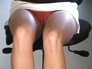 office hidden secretary amacing legs