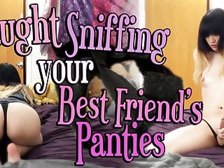 Caught Sniffing Your Trans Best Friend's Panties