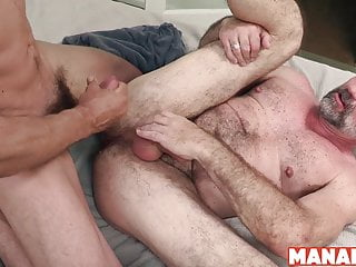 Manalized max sargent and peter rorsh fuck raw...