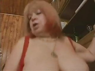 Bbw hairy granny fuck with facial...