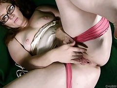 horny bbw lies back and fucks her soaking wet pussy for youfree full porn