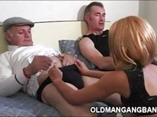 Grandpas fucking escort gal