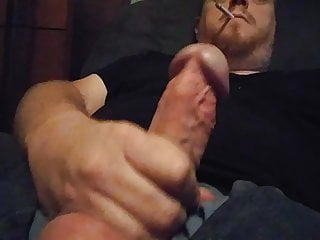 Stroking my Big Cock for you JohnnyRed883