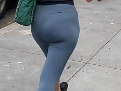 white pawg walking