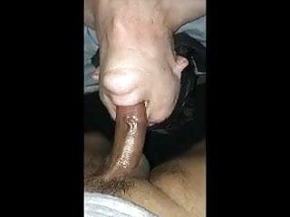Blindfolded black dick...