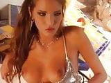 Gorgeous skinny Euro girl hardcore sex outdoors