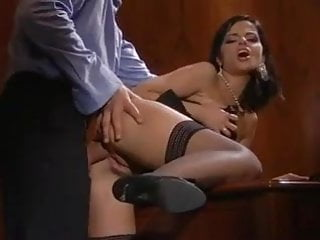 Hot babe angelica office...