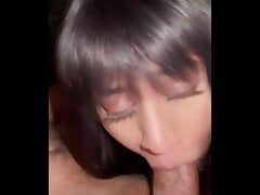 Tiny Stepsister Deepthroats Her Step Brother