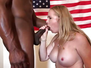 Hot Slut Milf Gets Fucked By BBC - Cum iniside