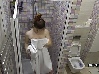 Czech Girl Erica in the shower - Hidden camera 2. cam