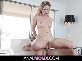 Stepmom Lets Son Fuck Her In The Ass