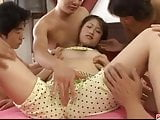 Dashing group sex along spicy Asian Iori Mizuki