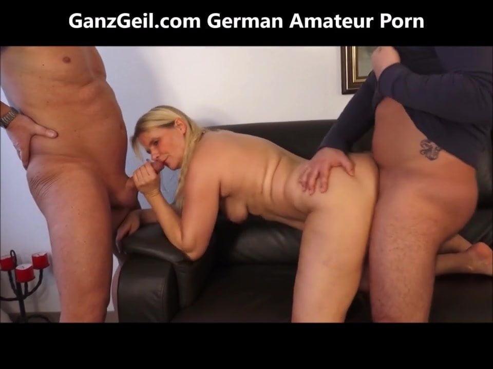 German Teen Threesome Hd