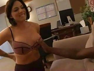 Dr. Juelz Ventura examines a black cock