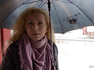 mature seduce to fuck for cash at street casting german Porn Videos