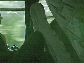 Teen legs in bus 2