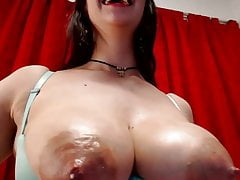 Big milk-filled boobs