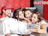 LETSDOEIT - Barely Legal Teen Foursome Sex