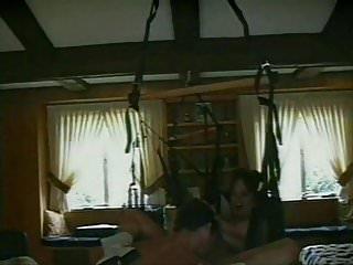In sex swing...