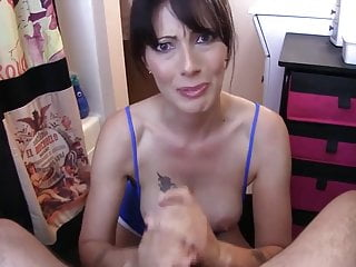 Step son Caught By Jerking Off By NOT HIS Step Mum