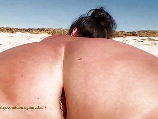 XX Beach Jilling Ginnudist Pussy Masturbating Nude GinAndGyn