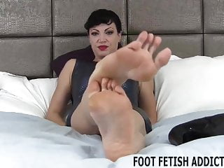 wanted indulge you your I foot fetish to help