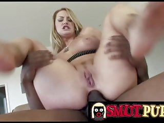 Smut puppet white booties stuffed with bbc compilation...
