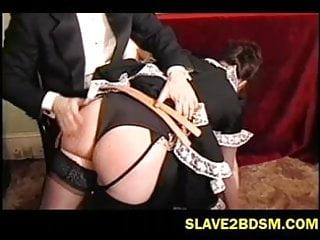 British bums get spanked...