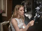 Sassy Nikki and Lisa Smoking