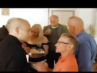 Old dicks orgy...