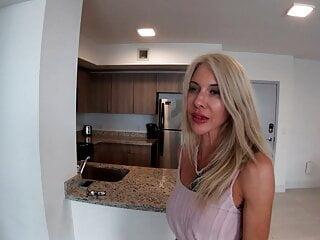 Stepmom Gives Stepson Dating Tips - Taboo Handjob