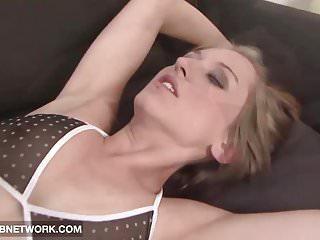 Internal Cumshot White Pussy likes Big Black Cock Hardcore