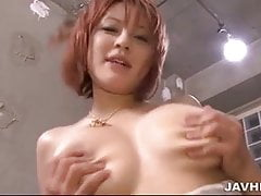Big titty Sara lying on a horny guy her pussy fingered until