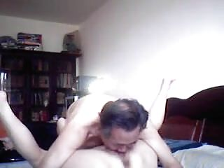 Real asian couple creamed pusst...