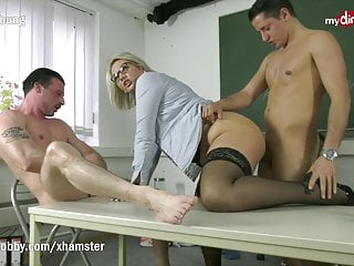 mydirtyhobby -threesome with hot college teacher mrs tatjanaPorn Videos