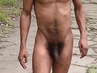 Married Twink Stripping Outside 1st time