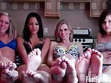 We need you to massage our aching feet