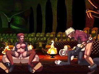VS Mature Vice and and Shen XIII hentai Iori KOF