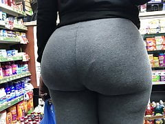 perfect ebony booty gray leggings vtl pt2free full porn