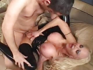 silicone mature slut in action