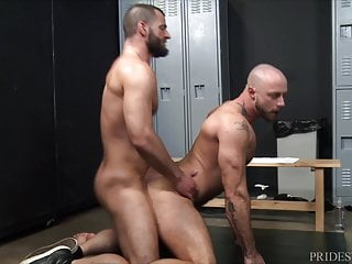 Menover30 jake morgan 039 locker room boner...