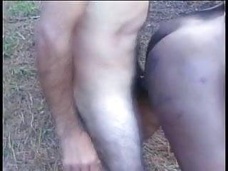 A horny dude...