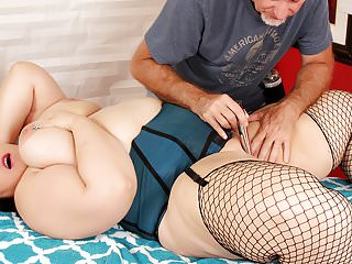 Bbw becki butterfly massage...
