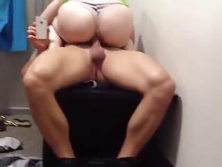 Redhead bitch penny pax rides massive cock of...