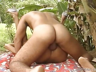 Hunky dude fuck eachother outdoors...