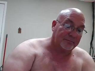 Dad on Webcam