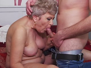 Demented mature mothers seduce younger boys