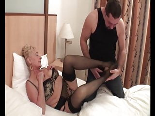 Hungarian granny Sila fucked good and what a rider she is:)