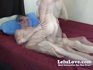Lelu Love-Webcam Fuck Cum On Tits