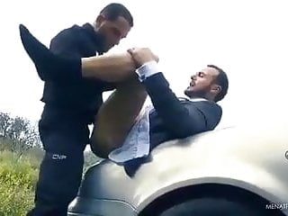 Officer gives his dick